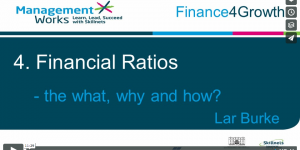 Financial Ratios Video Finance for Growth Skillsnet