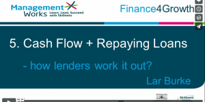 Cash flow and repaying loans